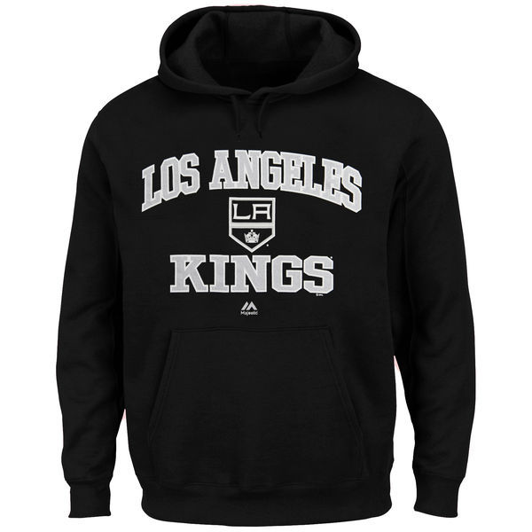 2016 NHL Los Angeles Kings Majestic Heart Soul Hoodie - Black