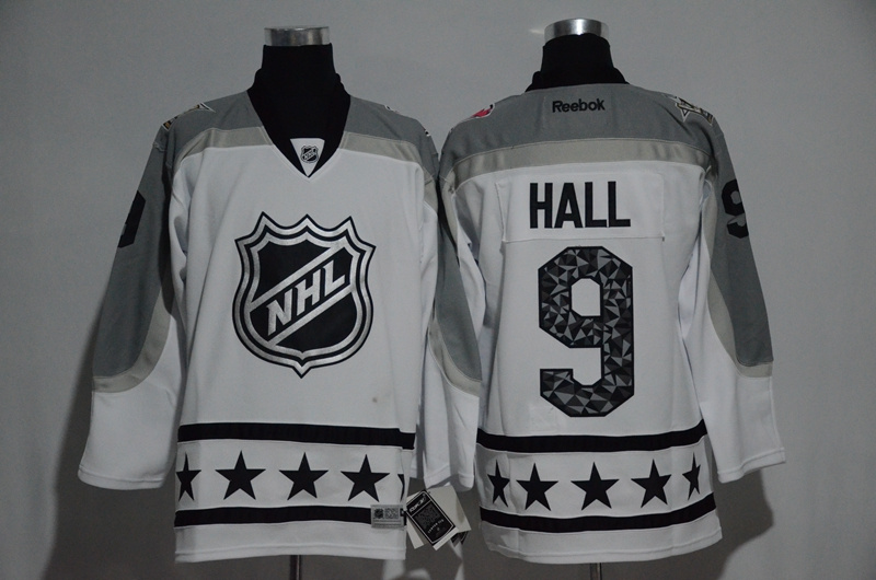 2017 NHL 9 Hall white All Star jerseys