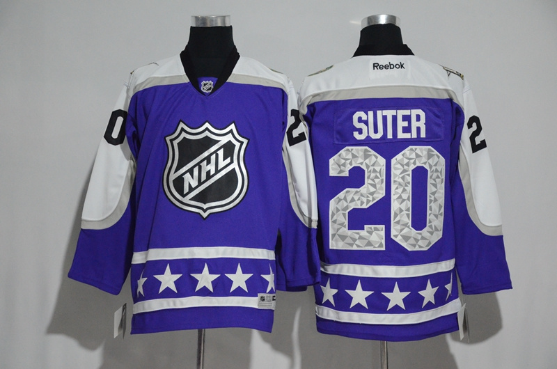 2017 NHL Minnesota Wild 20 Suter blue All Star jerseys