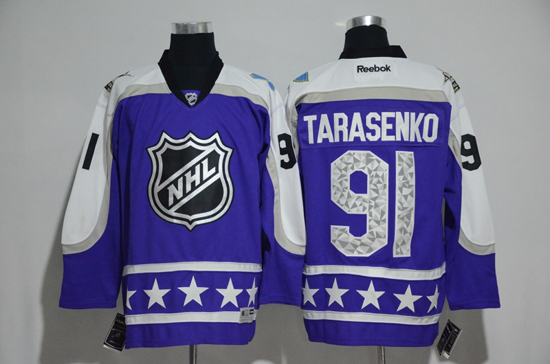 2017 NHL St. Louis Blues 91 Tarasenko blue All Star jerseys