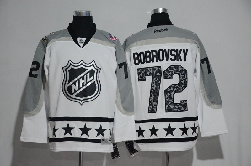 2017 NHL St.Louis Blues 72 Bobrovsky white All Star jerseys