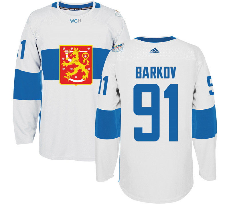 Finland Hockey 91Teuvo Teravainen White World Cup of Hockey 2016 adidas Mens Stitched Jersey