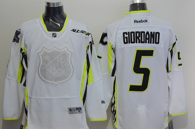 NHL 2015 All Star 5 Giordano White Premier Jersey