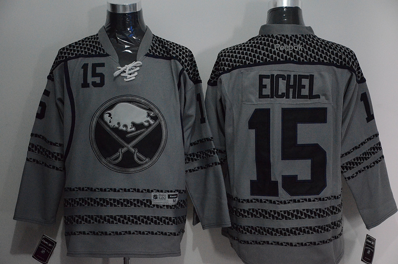 NHL Buffalo Sabres 15 eichel Cross Check Premier Fashion Jersey