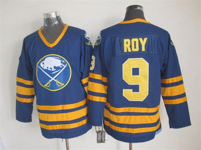 NHL Buffalo Sabres 9 Derek Roy 2015 Blue