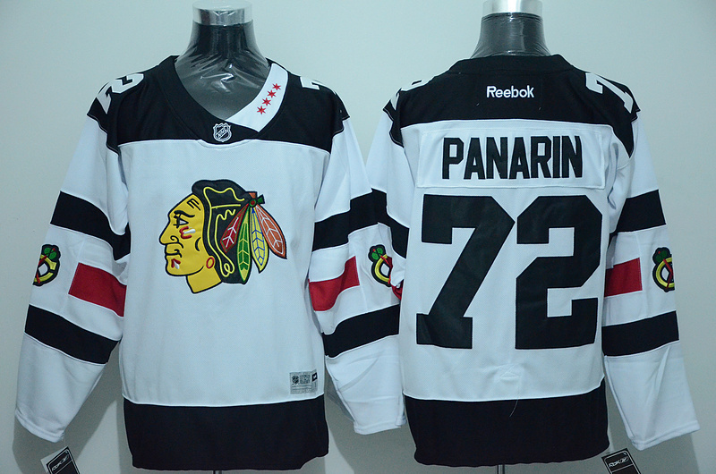 NHL Chicago Blackhawks 72 Panarin White 2016 Jersey