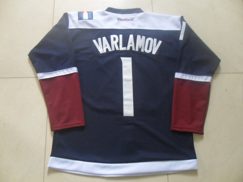 NHL Colorado Avalanche 1 Semyon Varlamov 2015 Stadium Series
