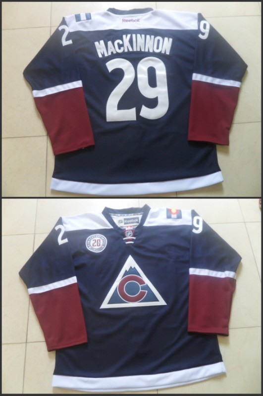 NHL Colorado Avalanche 29 Nathan MacKinnon 2015 Stadium Series