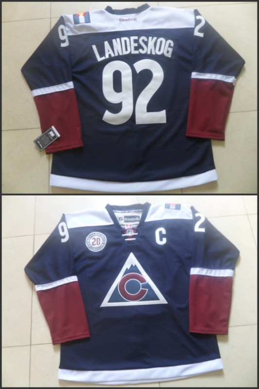 NHL Colorado Avalanche 92 Gabriel Landeskog 2015 Stadium Series