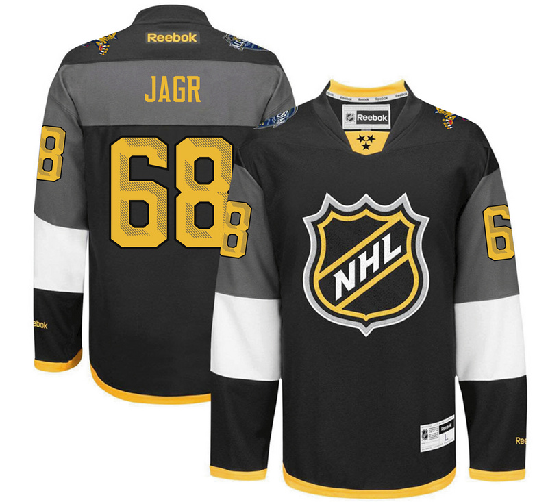 NHL Florida Panthers 68 Jarg black 2016 All Star Jersey