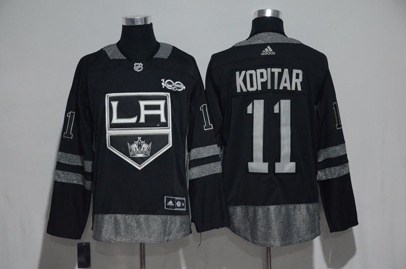 sports shoes 07213 12350 los angeles kings blank white jersey