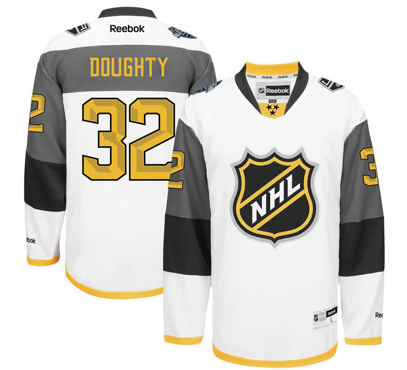 NHL Los Angeles Kings 32 Hrudey white 2016 All Star Jersey
