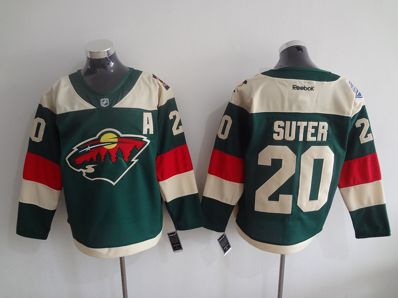 NHL Minnesota Wild 20 Ryan Suter Green 2016 Stadium Series