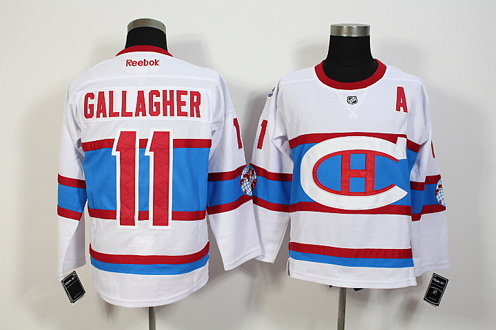 NHL Montreal Canadiens 11 Brendan Gallagher 2016 Winter Classic Premier Jersey
