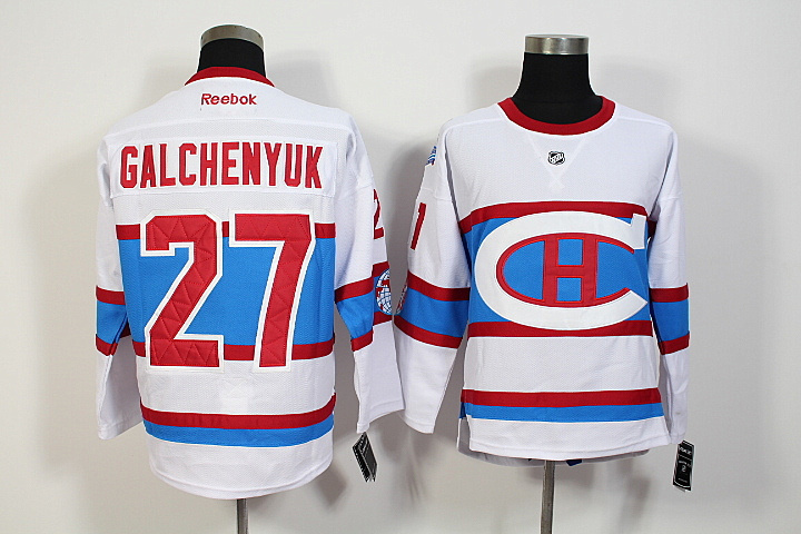 NHL Montreal Canadiens 27 Alex Galchenyuk 2016 Winter Classic Premier Jersey
