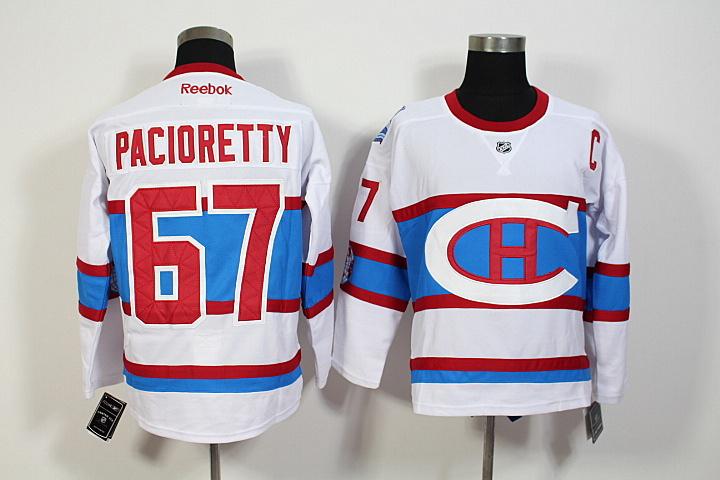 06ea29847 NHL Montreal Canadiens 67 Max Pacioretty 2016 Winter Classic Premier Jersey