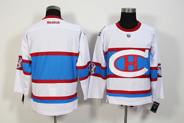 NHL Montreal Canadiens Blank 2016 Winter Classic Premier Jersey