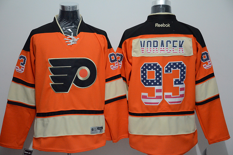 NHL Philadelphia Flyers 93 Voracek Orange 2015 National Flag Edition