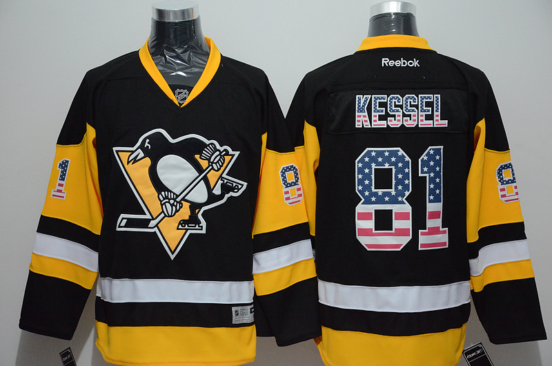 NHL Pittsburgh Penguins 81 Phil Kessel 2015 National Flag Edition