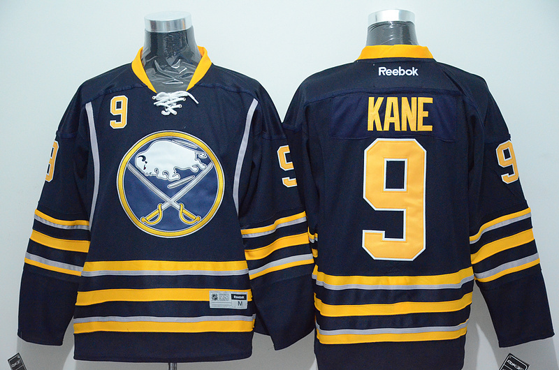 NHL San Jose Sharks 9 Evander Kane Blue 2015 Jerseys