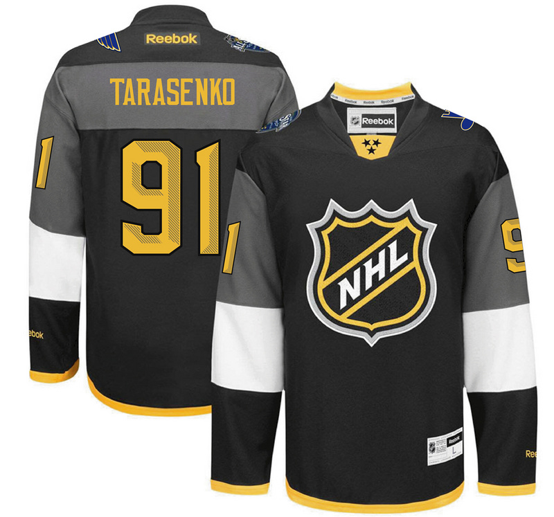 NHL St.Louis Blues 91 Vladimir Tarasenko black 2016 All Star Jersey