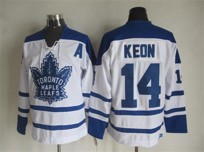 NHL Toronto Maple Leafs 14 Dave Keon White 2015 Jerseys