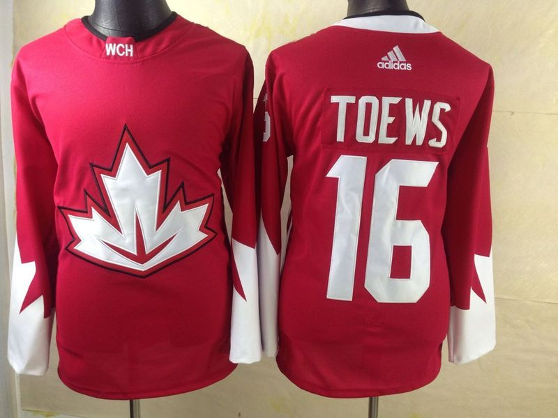 NHL Toronto Maple Leafs 16 Toews red 2016 Jerseys