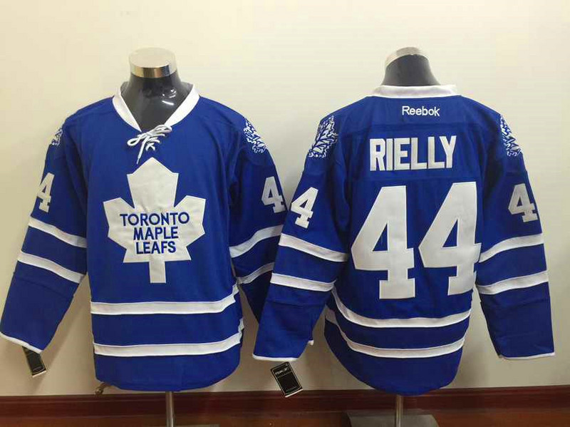 NHL Toronto Maple Leafs 44 Morgan Rielly Blue 2015 Jerseys