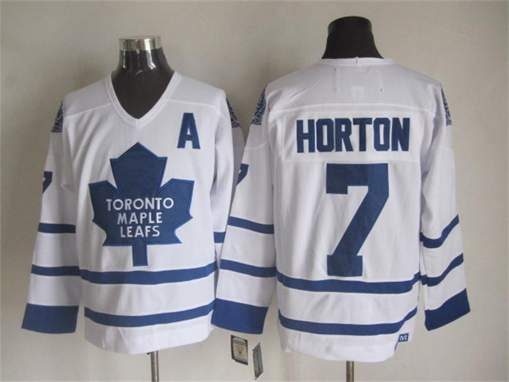 NHL Toronto Maple Leafs 7 Tim Horton White 2015 Jerseys
