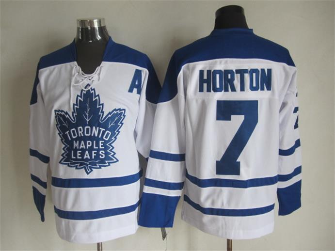 NHL Toronto Maple Leafs 7 Tim Horton White1 2015 Jerseys