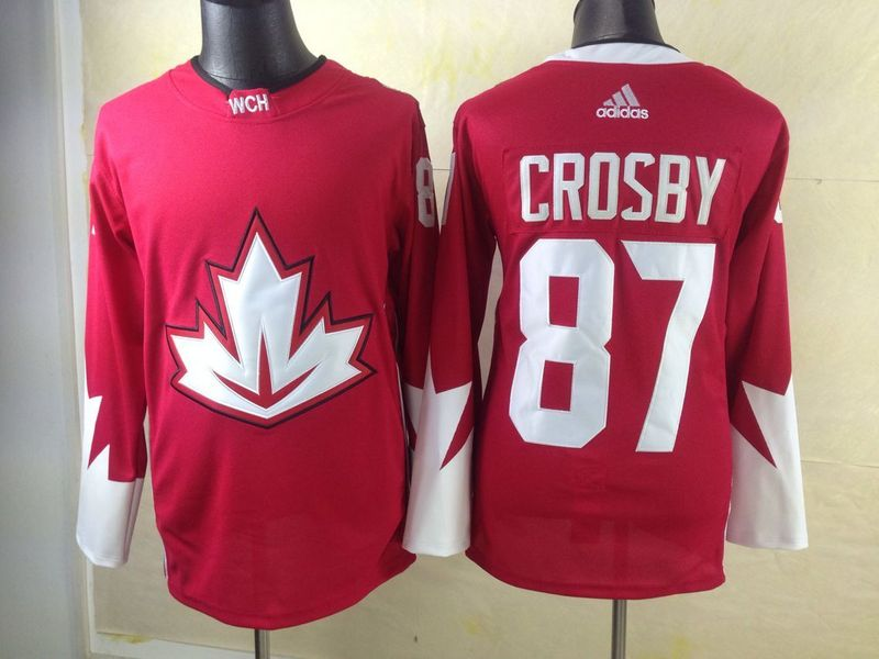 NHL Toronto Maple Leafs 87 Crosby red 2016 Jerseys