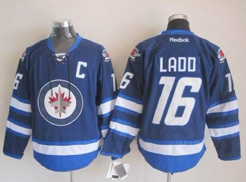 NHL Winnipeg Jets 16 Ladd Blue 2015 Jerseys