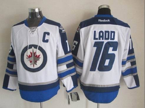 NHL Winnipeg Jets 16 Ladd White 2015 Jerseys