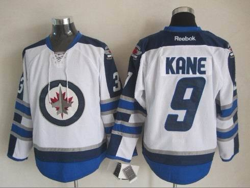 NHL Winnipeg Jets 9 Kane White 2015 Jerseys