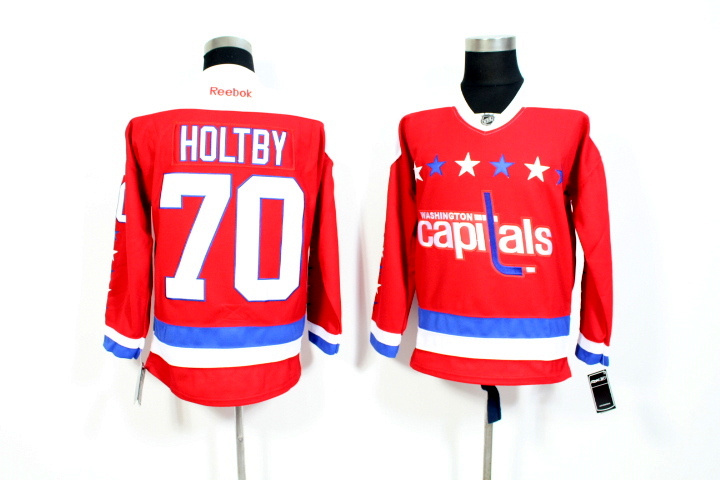 Youth NHL Washington Capitals 70 Holtby Red 2015 Jerseys