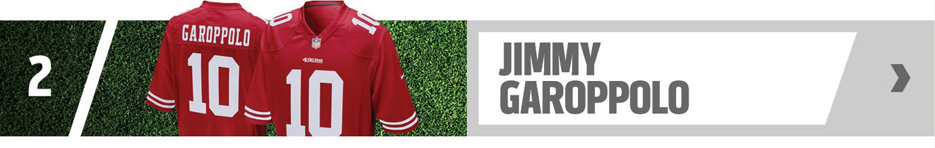 #2 - Jimmy Garoppolo - Shop Now