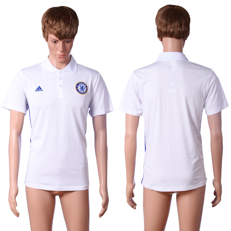 2016 Chelsea white polo shirt AAA+ soccer jerseys