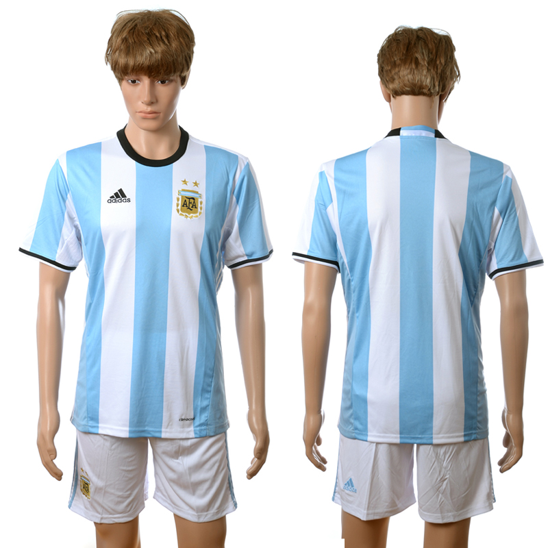 2016-2017 Argentina home blue soccer jerseys