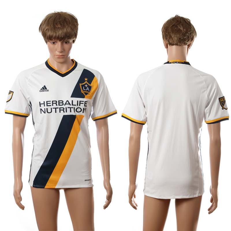 2016-2017 LA Galaxy home blank white AAA+ soccer jerseys