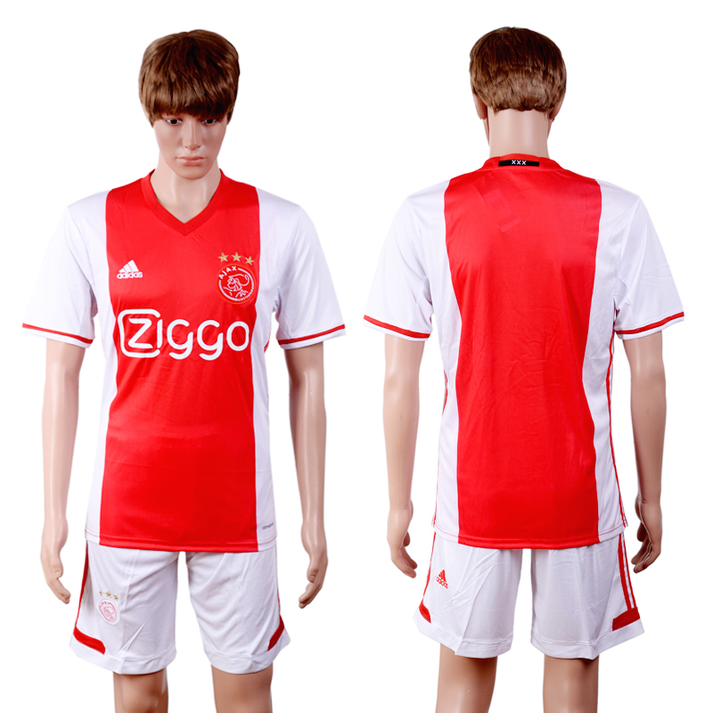 2016-2017 club Ajax home red soccer jerseys
