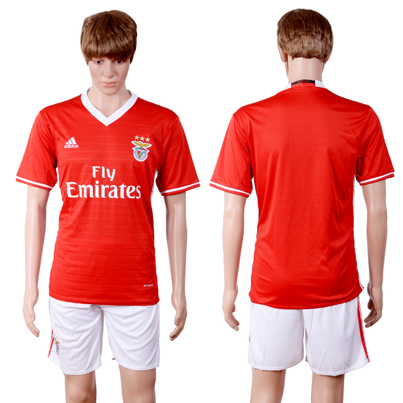 2016-2017 club Benfica home red soccer jerseys