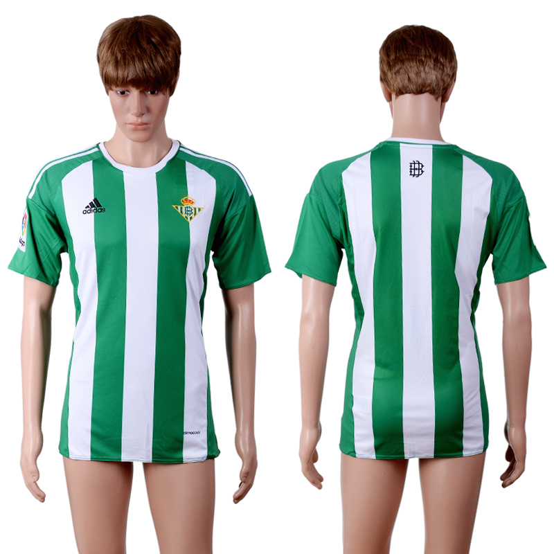 2016-2017 club Real Betis home green AAA+soccer jerseys