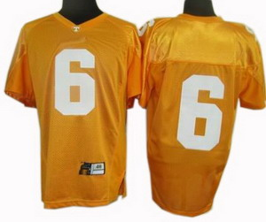NCAA Tennessee Vols Jerseys 6 Yellow Jerseys