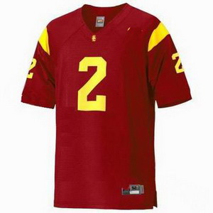 NCAA USC Trojans 2 Taylor Mays Red Football Jersey