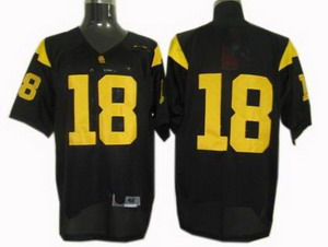 NCAA USC Trojans Football Jersey 18 jerseys black Jerseys