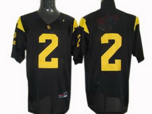 NCAA USC Trojans Football Jersey 2 jerseys black Jerseys