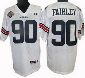 NCAA jerseys Under Armour South 90 Fairley white