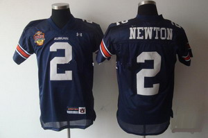 2011 BCS Champions Patch NCAA Auburn Tigers Cameron Newton 2 Navy Blue