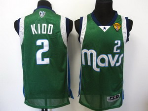 nba Dallas Mavericks 2 Jason Kidd Swingman Green 2011 finals