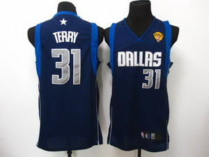 nba dallas mavericks 31 terry Swingman DK blue 2011 Finals